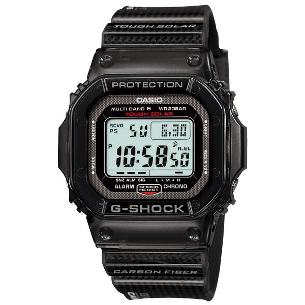 送料無料 CASIO カシオ G-SHOCK Gショック ジーショック 腕時計 メンズ カーボンファイバーベルト GW-S5600-1JF 国内正規品 gshoc 電波時計 タフソーラー 防水 時計 新品 多機能 世界6局受信 マルチバンド6 ブラック MT-G MULTIBAND6 クリ