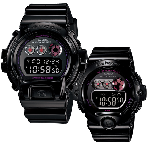 """Watch baby-g ベビージー G PRESENTS lovers collection 2012 black LOV-12B-1JR palocci"