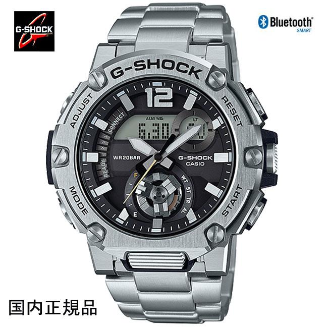 Gショック ジーショック 腕時計 G-STEELソーラーBluetooth カーボンコアガード 希少 国内正規品 メンズ GST-B300SD-1AJF G-SHOCK 在庫処分 スーパーセール カーボンコアガード構造
