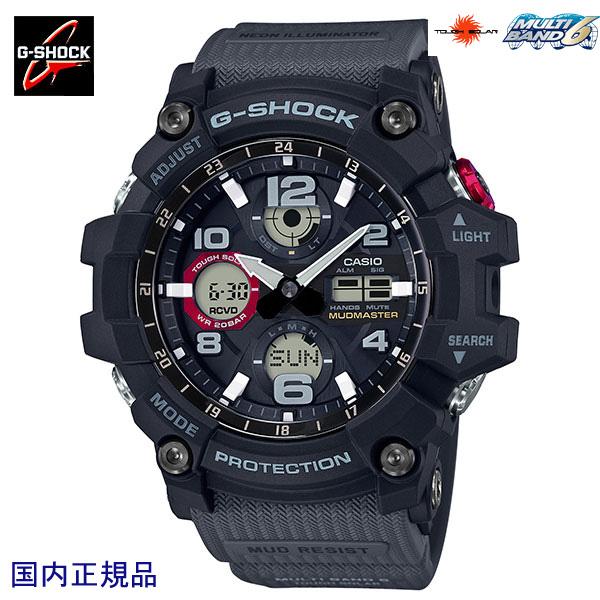 G-SHOCK ジーショック 腕時計 マッドマスター MUDMASTER タフソーラー電波 GWG-100-1A8JF 国内正規品