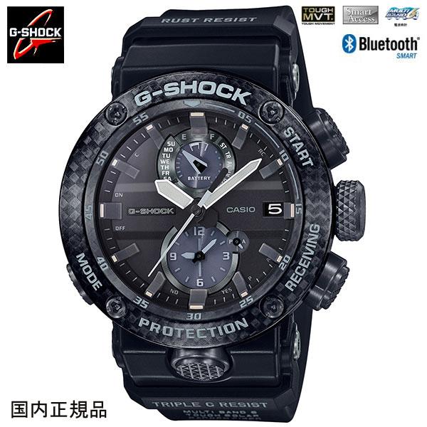 カシオ G-SHOCK ジーショック 腕時計 タフソーラー電波 GRAVITYMASTER グラビティマスター Smart Access GWR-B1000-1AJF 国内正規品