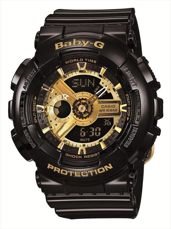 CASIO BABY-G ベビージー カシオ 腕時計 ビッグケースモデル BA-110-1AJF 国内正規品 レディース