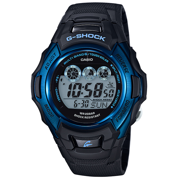 "Casio g-shock CASIO G shock ""FIRE PACKAGE ' 16 (-fire packages 2016) GW-M500F-2JR men's watch radio solar watches waterproof wristwatch radio watch domestic genuine men's blue black multiband 6 digital tough solar"