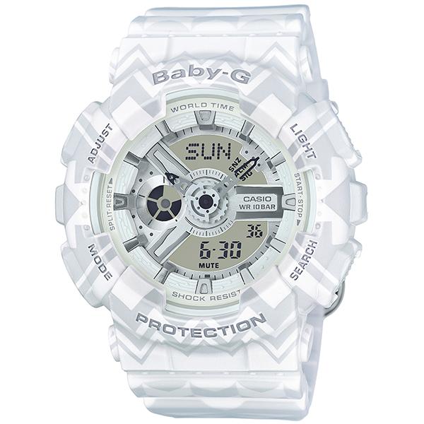 BABY-G ベビージー プレゼント 腕時計 ba-110tp-7ajf 国内正規品 トライバルデザイン BA-110TP-7AJF 好評 レディース ベビージー腕時計