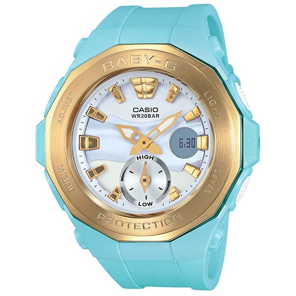 BABY-G ベビージー腕時計 ビーチ・グランピング・シリーズ BGA-220G-2AJF 国内正規品 レディース