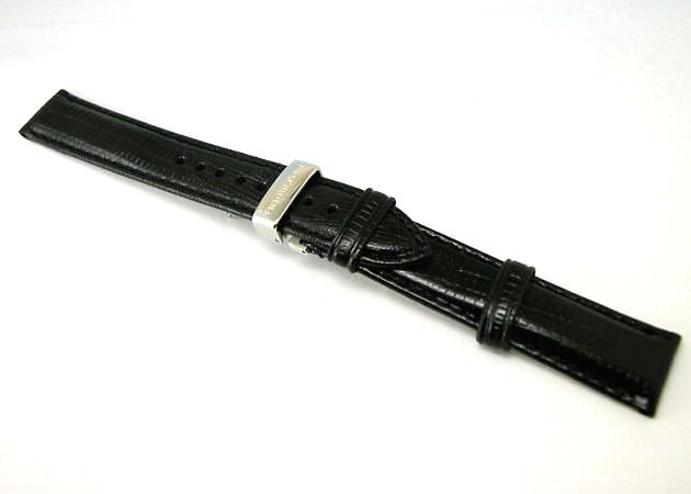 HAMILTON ハミルトン ベンチュラ用型押しカーフベルト 黒色