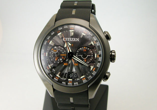 Men's CITIZEN citizen watch ProMaster SKY eco-drive satellite wave air limited model CC1075-05E