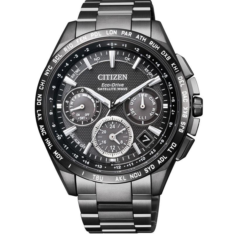 df617d09ce3 CC9017-59E mens F900 GPS satellites and satellite wave radio eco-drive  CITIZEN watches ...