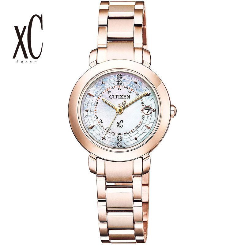 CITIZEN シチズン 腕時計 Hikari Collection エコドライブ電波 Titania Happy Flight 世界限定3,500本 限定BOX付 サクラピンク ES9444-50X レディース