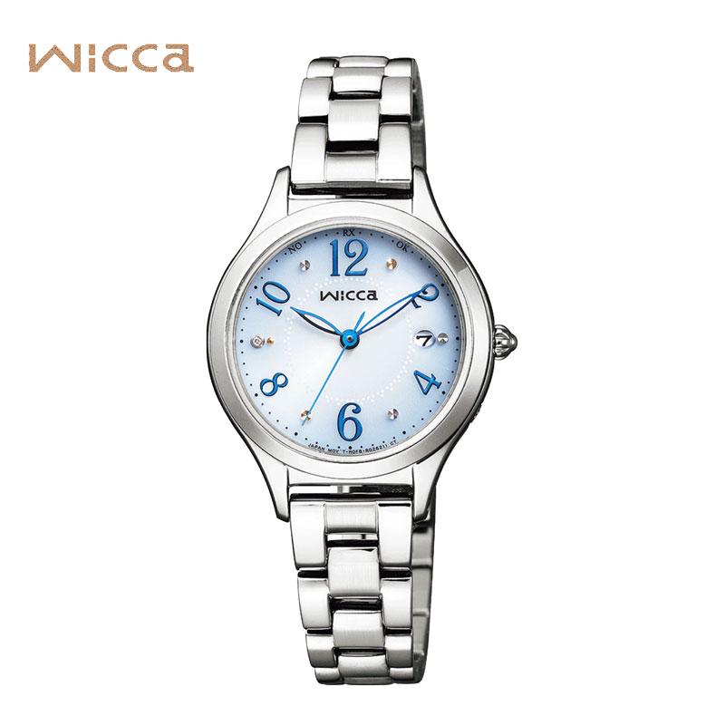 CITIZEN シチズン 腕時計 WICCA ウィッカ ソーラー電波レディー スウォッチ KS1-210-91