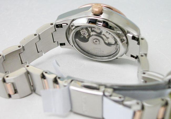 시티즌 시계 CITIZEN 여성 한정 모델 기계식 시티즌 컬렉션 오토매틱 기계식 일본 스틸 PD7166-54X 체리 디자인 한정 모델 레이디스 워치 시계 제한 방수 악어 가죽 밴드 교체 된 아날로그 핑크 선물 선물