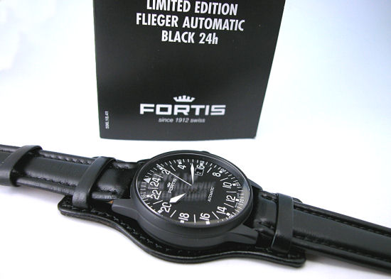 FORTIS フォルティス フリーガークラシック 24 정품 Ref.596.18.41