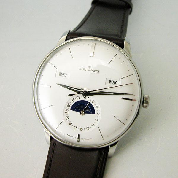 ユンハンス JUNGHANS Meister Kalender マイスターカレンダー自動巻腕時計027 4200 01国内正規品