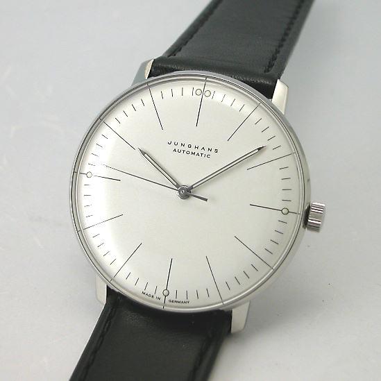 マックス・ビルBYユンハンス JUNGHANS 自動巻腕時計027 3501 00国内正規品
