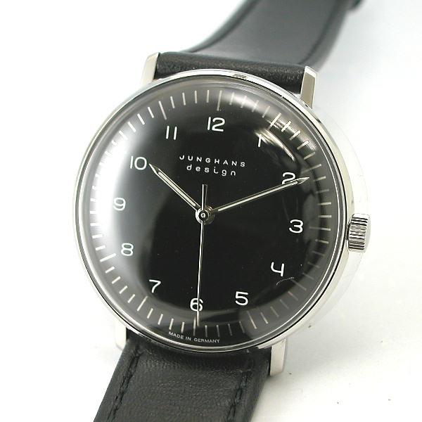 マックス・ビルBYユンハンス JUNGHANS 手巻き腕時計027 3702 00国内正規品 YDKG-tk