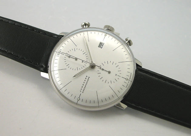 Max Bill BY ユンハンス JUNGHANS Chronoscope automatic winding watch 027 4600 00 regular products