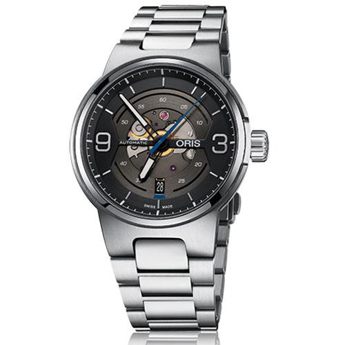 ORIS オリス 腕時計 ウィリアムズ スケルトンエンジン デイト 自動巻 年末年始大決算 正規品 新着セール Ref.73377164164 自動巻き メンズ スイス製 国内正規品
