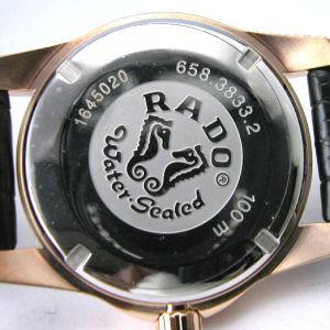 RADO 라드고르덴호스 복각판 18 K로즈 골드 Ref.R84. 831.115