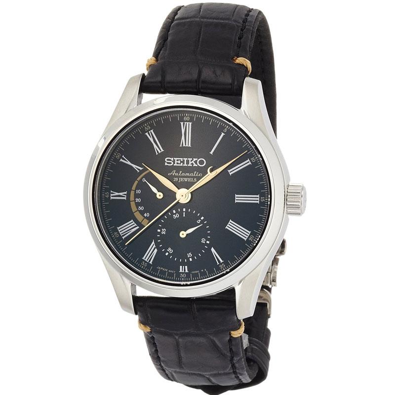 セイコー SEIKO メカニカル 自動巻 漆ダイヤル 在庫一掃 国内正規品 メンズウォッチ SARW013 プレサージュ 腕時計 現金特価 送料無料