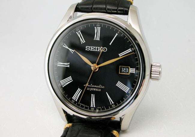 SEIKO 세이 코 시계 プレサージュ 래커 다이얼 자동 권 SARX029 기계식 남성 시계