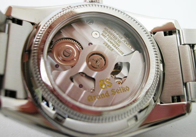 盛大的精工盛大精工手表机械收集 SBGR051 自动自动上弦男装