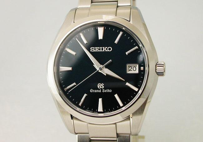 GRAND SEIKO Grand Seiko watch quartz collection blue 40 mm SBGV025 mens