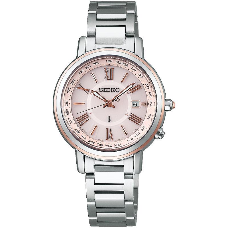 SEIKO セイコー LUKIA ルキア 腕時計 ソーラー電波チタン ラッキーパスポート ブレスレット SSQV028 国内正規品 レディース