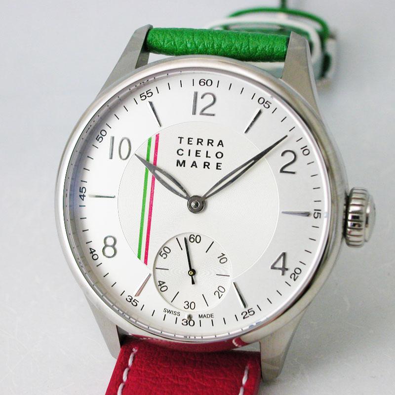 TERRA CIELO MARE テッラチエロマーレ TORICOLORE トリコローレ 腕時計 手巻き TC7150AC2PA 国内正規品 メンズ