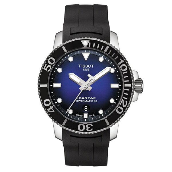 TISSOT ティソ 腕時計 SEASTAR シースター 1000 AUTOMATIC 自動巻き ブルーダイヤル T1204071704100 メンズ 国内正規品