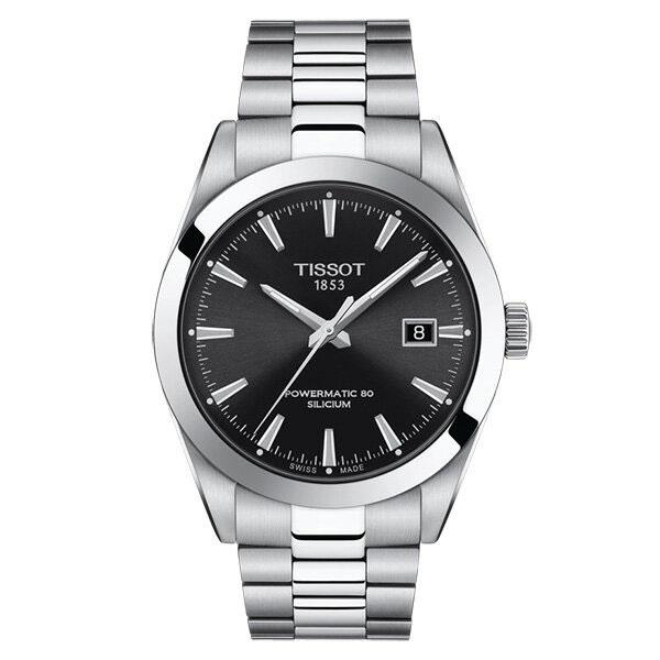 TISSOT ティソ 腕時計 ジェントルマン オートマティック パワーマティック80 シリシウム T1274071105100 メンズ 国内正規品