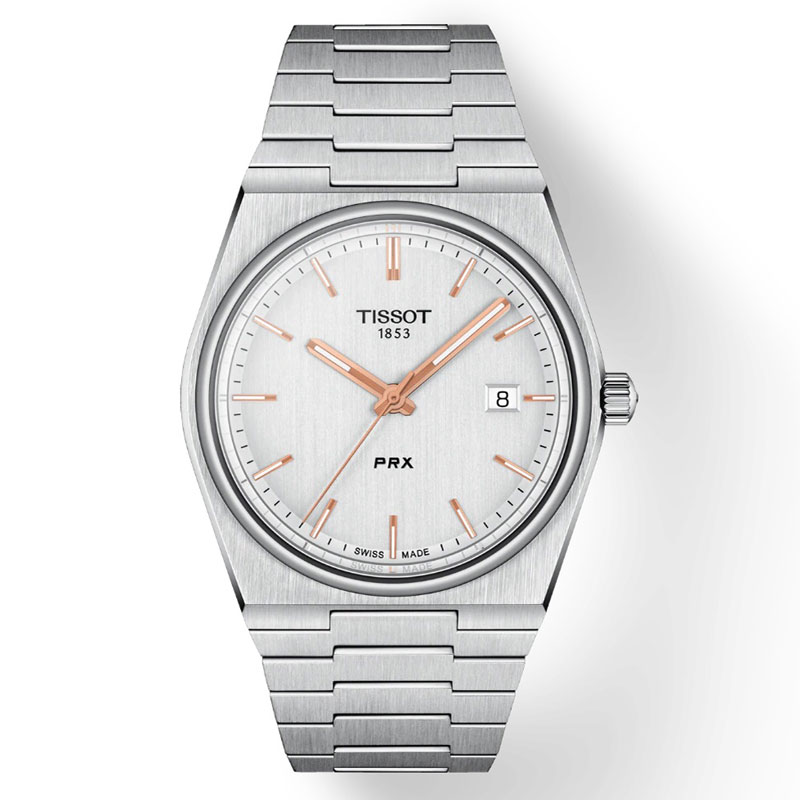 ティソ TISSOT 本物 PRX 25%OFF ピーアールエックス シルバー文字盤 腕時計 T1374101103100 送料無料 国内正規品 スイス製