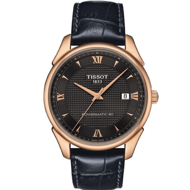 TISSOT ティソ 腕時計 ヴィンテージ K18ピンクゴールド VINTAGE AUTOMATIC 自動巻き Powermatic80 Gent T920.407.76.068.00 メンズ 国内正規品