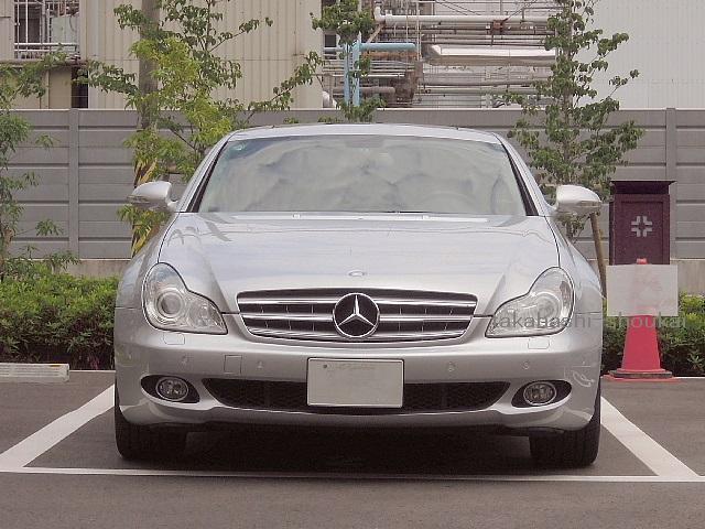 【組立完成品出荷】W219 CLSクラス 3フィン フロントグリル シルバー(銀) CLS350 CLS500 CLS550 CLS55AMG CLS63AMG
