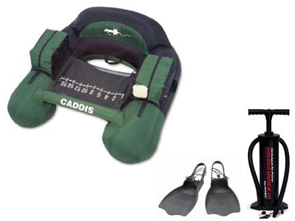 送料無料Caddis Nevada カディス ネバダU型フローターフィン・ポンプセット
