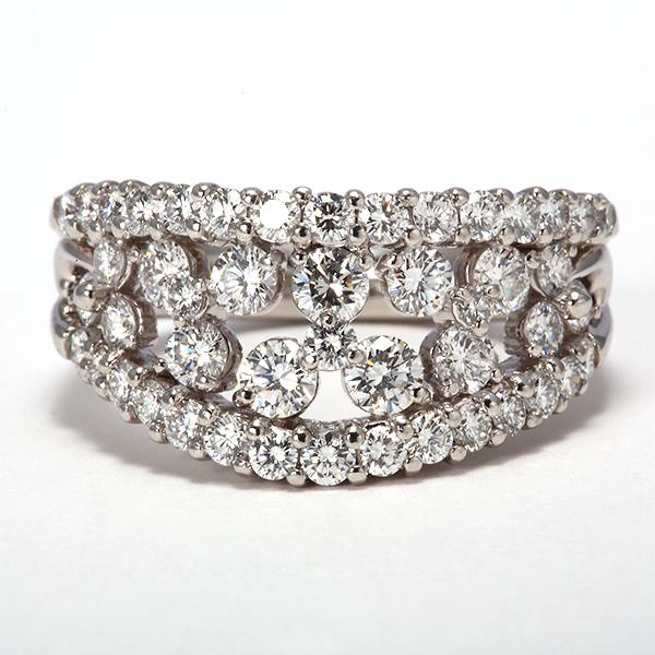 リング ダイヤモンド PT900(プラチナ) kine360463 レディース 指輪 ジュエリー 宝石 1カラット 1.56ct536000 bkp50 お返し