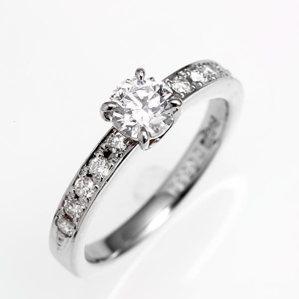 リング ダイヤモンド PT プラチナ ダイヤモンド-0.532ct 0.22ct 11石 e-739 レディース エンゲージリング 指輪 婚約指輪 1点もの プロポーズ 4月誕生石 お返し