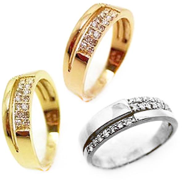 【お見積り商品】ダイヤモンドリング 指輪 レディース ニッケルフリー 10金 ゴールド 地金カラー全3色 1号から20号 yk-66 K10 お返し