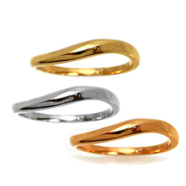 【セミオーダー】【1本単体】ペアリング k10 結婚 指輪 シルバーリング 1号から29号 10金 yk307 (yk307set) お返し