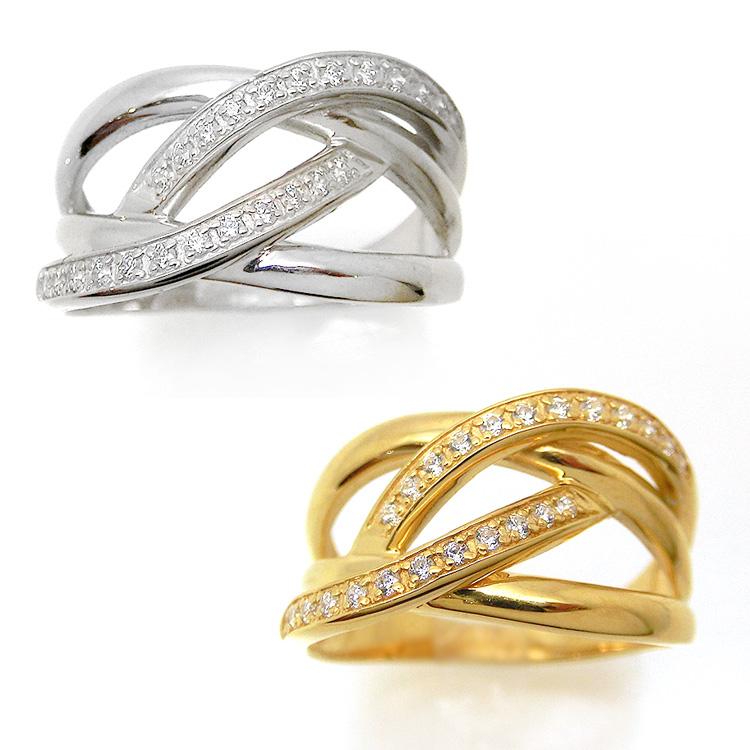 ダイヤモンド リング K10 24石 0.15ct 指輪 レディース 10金ゴールド 地金カラー jk5077 10金 ファッション 洗練 ユニーク デザイン シンプル モード 目立つ(suk) お返し