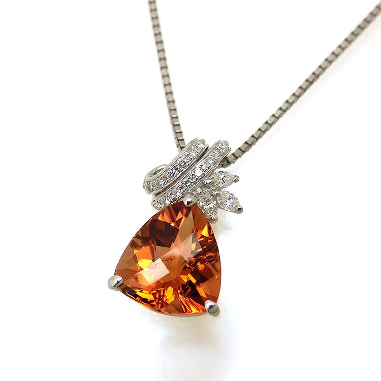 トルマリン ネックレス プラチナ PT 10月誕生石 ソーティング付き ダイヤモンド ペンダント pn164 レディース パワーストーン ジュエリー 天然石 宝石 即納 間に合う 急ぎ お返し