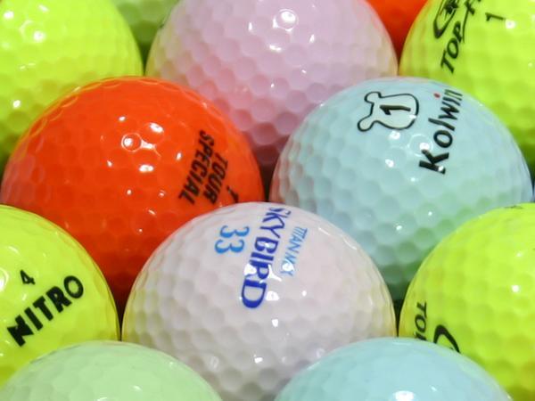 【ABランク】ブランド混合 カラー混合 500個セット【あす楽】【ロストボール】【中古】