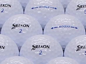 【ABランク】【ロゴなし】スリクソン AD333 2011年モデル ホワイト 500個セット【あす楽】【ロストボール】【中古】