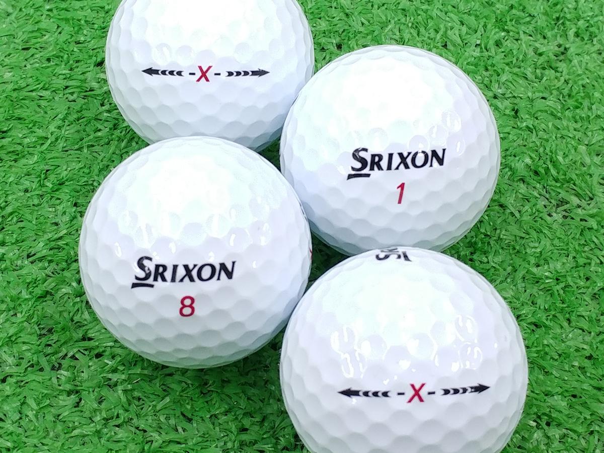 【ABランク】【ロゴなし】スリクソン -X- 100個セット【あす楽】【ロストボール】【中古】