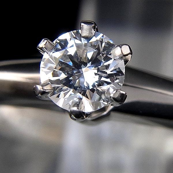 Pt950 TIFFANY&Co/ティファニーソリティアダイヤモンドリング D 0.23ct/F-VS2-EX/4.4g/7.5号/ティファニー鑑定書付【中古】