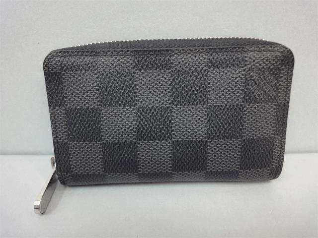 【LOUIS VUITTON】ルイ・ヴィトン ダミエ・グラフィット ジッピー・コインパース N63076【中古】