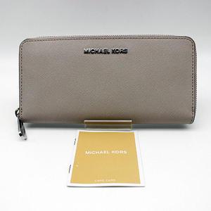 【MICHAEL KORS】マイケルコースラウンドファスナー長財布32T3STVE3L/CEMENT(グレー系)【新品・未使用】