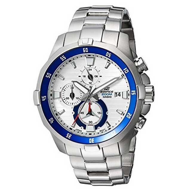 CASIO EDIFICE/カシオ エディフィスクロノグラフ腕時計 EFM-502D-7A 200m防水 カレンダー【新品】