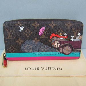 【LOUIS VUITTON】ルイ・ヴィトン モノグラムジッピー・ウォレット M61360【中古】