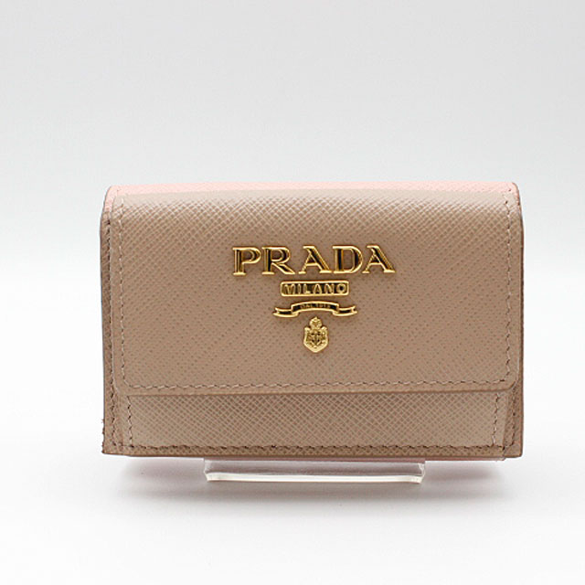 【PRADA】プラダ  SAFFIANO MULTIC 財布1MH021/CIPRIA+ORCHIDEA 【新品・未使用】