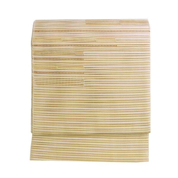 名古屋帯 正絹 絽 綴れ 夏用 八寸名古屋帯 肆